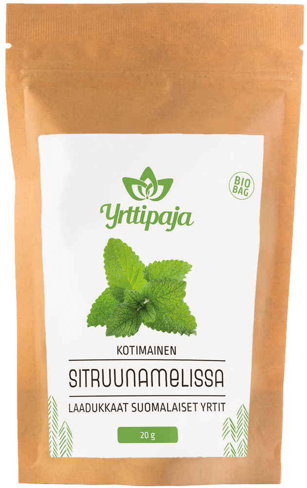 Sitruunamelissa (bio bag)
